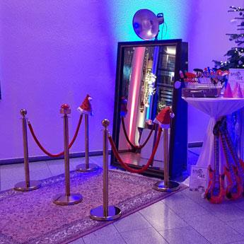 SnapDat Fotobox und Fotospiegel MLP Weihnachtsfeier