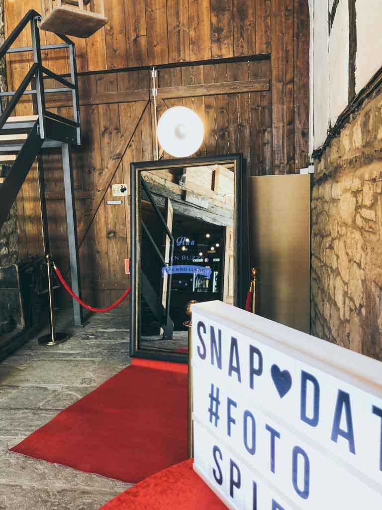 SnapDat Fotospiegel SocialMedia