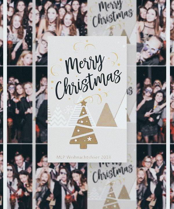 SnapDat Fotospiegel Weihnachtsfeier MLP Portfolio