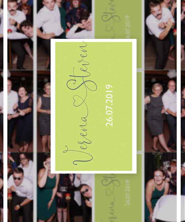 Verena und Steven SnapDat-Fotospiegel Hochzeitsportfolio