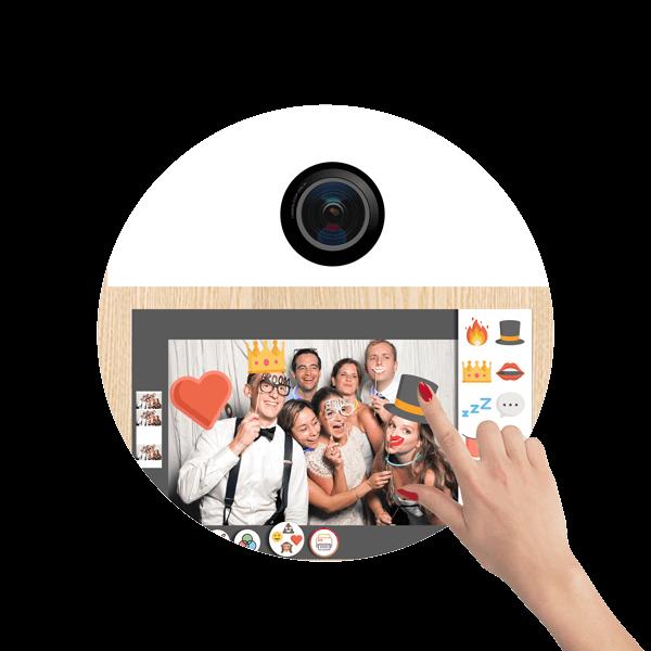 SnapDat Fotobox Touchscreen