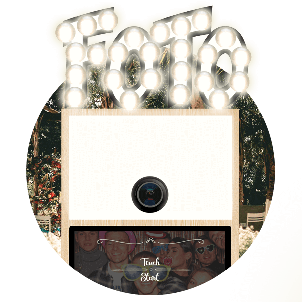SnapDat Fotobox buchen Snappy Rund nue