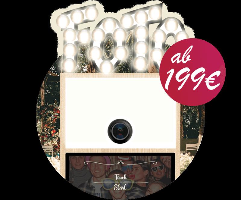 SnapDat Fotobox buchen oder mieten günstig ab 199 Euro