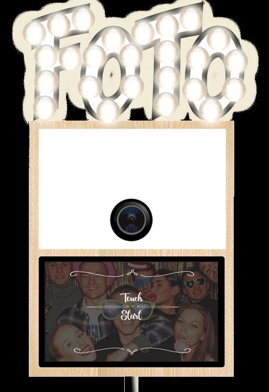 SnapDat Fotobox mieten Snappy mit Durckflatrate