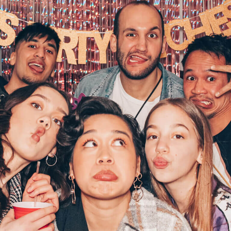 Fotobox mieten Geburtstag SnapDat