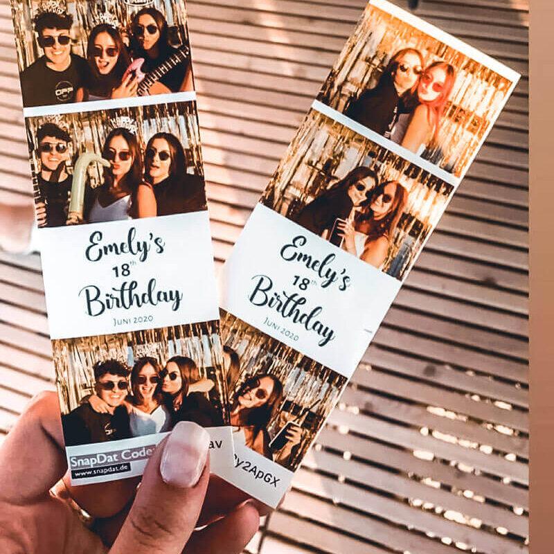 Fotobox mieten in Bruchsal SnapDat