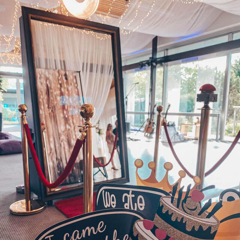 Fotospiegel mieten für Hochzeit SnapDat