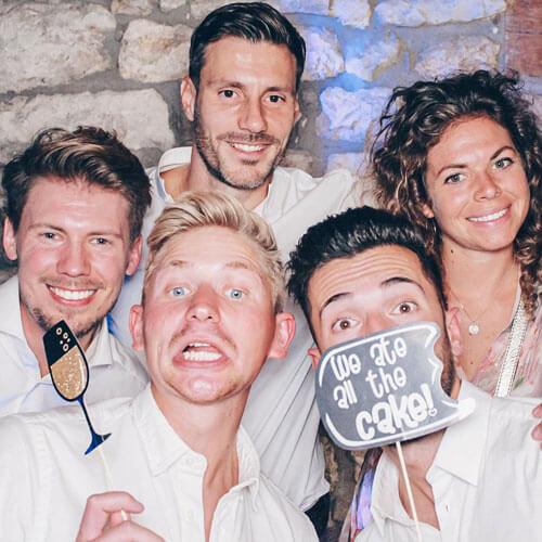 Fotobox mieten Hochzeit Druckflatrate