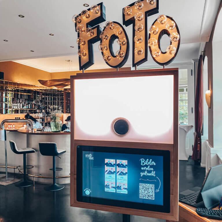Fotobox mieten SnapDat Drucker
