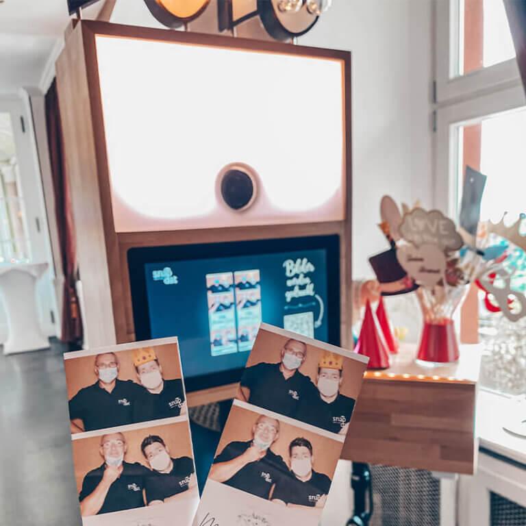 Fotobox mieten SnapDat Druckflatrate Premium Drucker